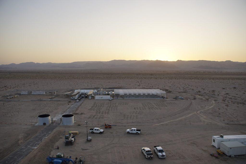 إنتاج الماء في الصحراء من الهواء