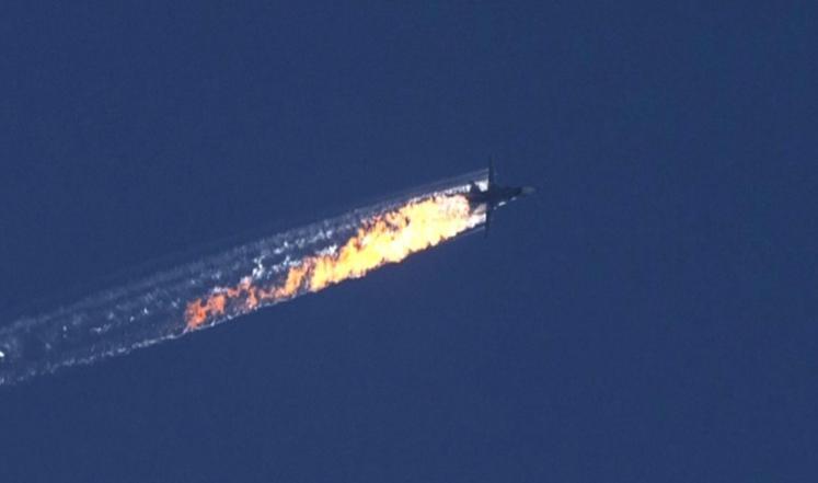 فيديو: القوات التركية تسقط طائرة حربية روسية