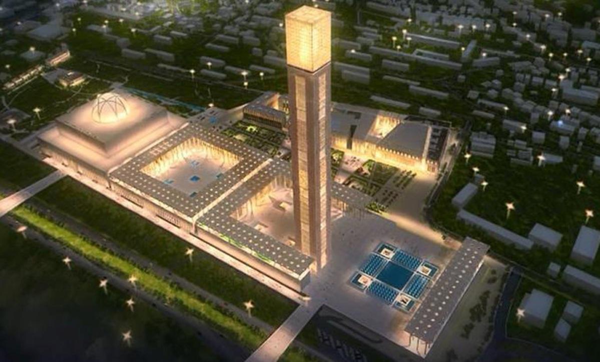 الجزائر تستعد لإطلاق أكبر مسجد في إفريقيا Algeria