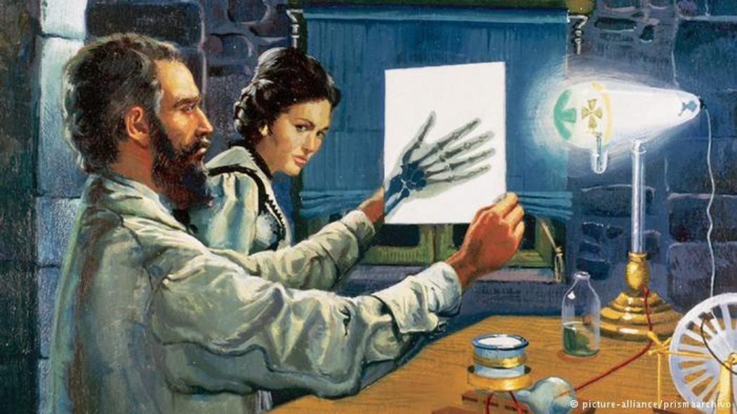 بهذه الصدفة تم تم إكتشاف الأشعة السينية!