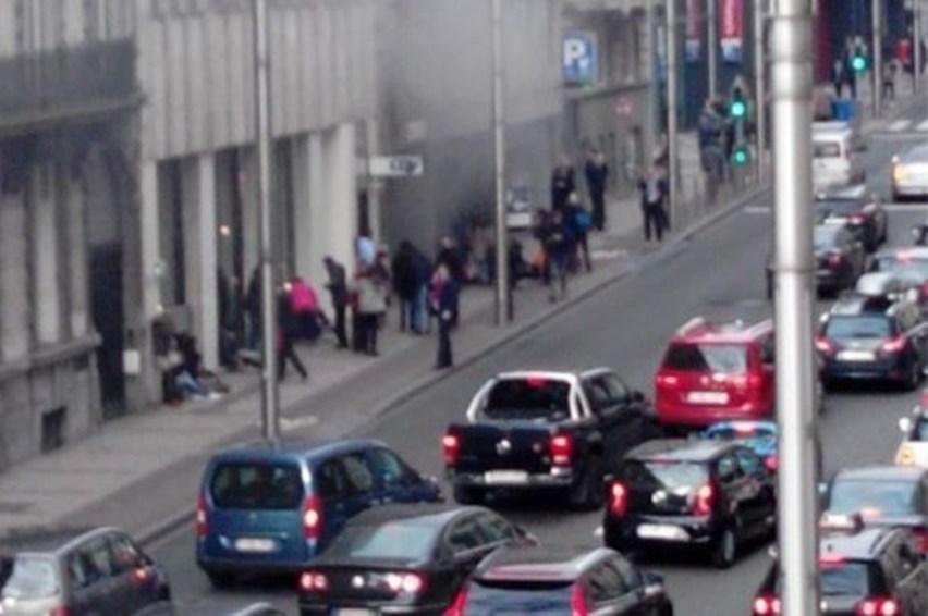 تفجير آخر في محطة ميترو الأنفاق بروكسيل Metro Station Maelbeek