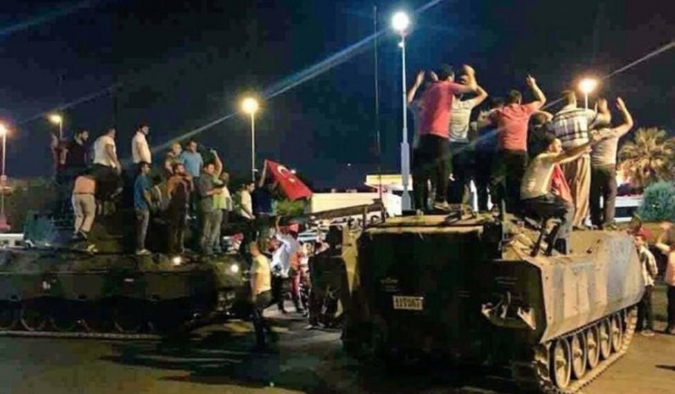 فشل الإنقلاب العسكري على الحكومة التركية
