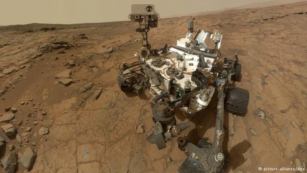 مسبار ناسا NASA يبدأ استكشاف كثبان نشطة فوق المريخ