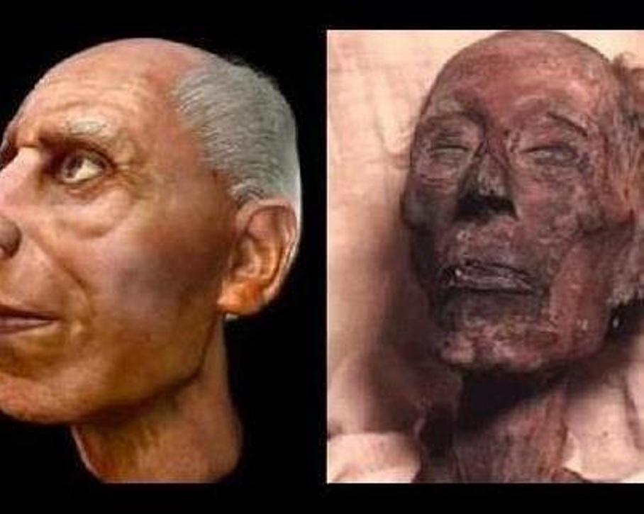 هذا هو فرعون موسى المذكور في القرآن الكريم هنا وهناك