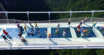 هذه هي أسباب إغلاق الجسر الزجاجي الصيني