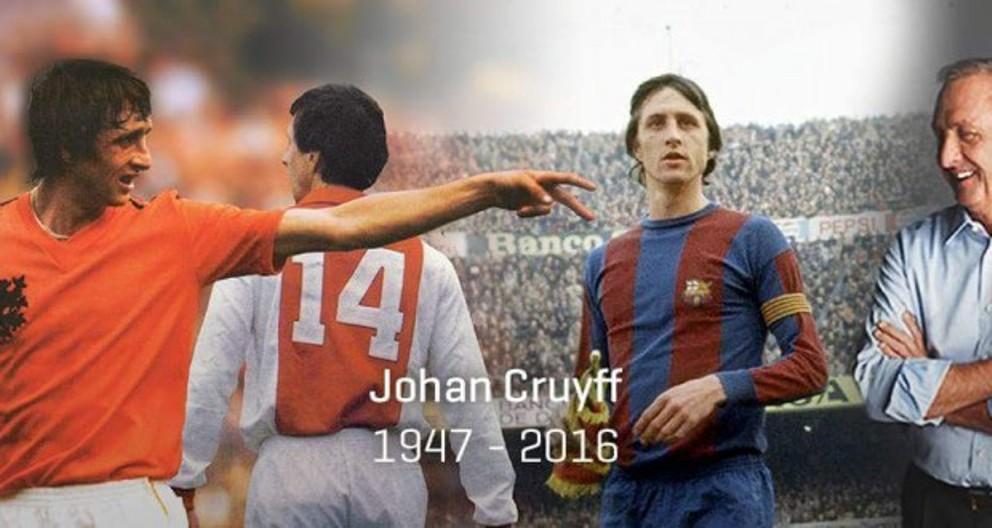 """هكذا توفي أسطورة الكرة العالمية الهولندي """" يوهان كرويف """""""