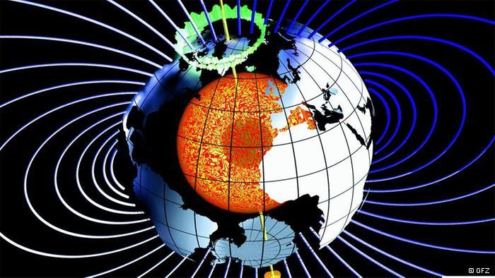 دراسة أعماق كوكب الارض بواسطة الأقمار الصناعية