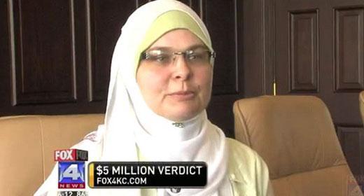 شركة AT&T عملاق الاتصالات يدفع 5 مليون دولار كتعويض لمرأة مسلمة