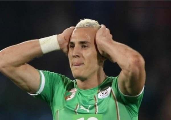 لاعب المنتخب الجزائر ينقل للمستشفى في آخر تدريب استعدادا لبلجيكا