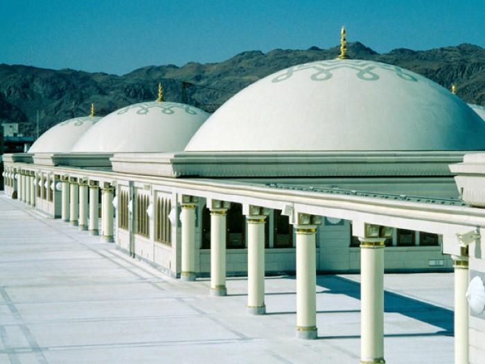 4-قباب-المسجد-النبوية-في-المدينة-المنورة
