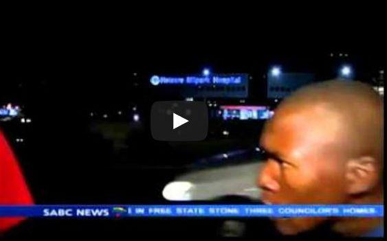 فيديو: سرقة مراسل قناة على الهواء مباشرة
