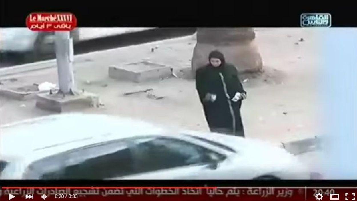 مذيعة مصرية تتعرض للتحرش أثناء تصوير برنامج